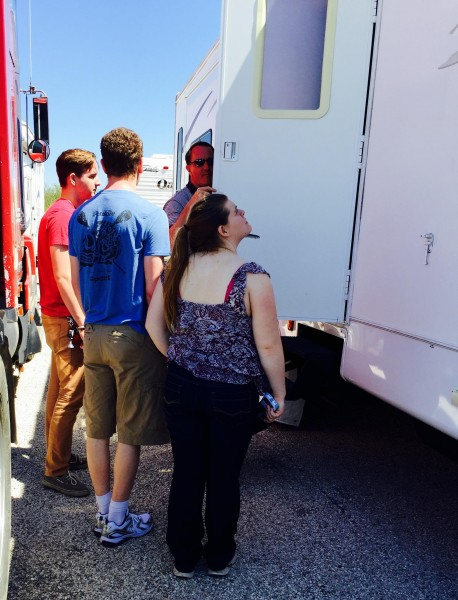 """Showing them the RV (a.k.a the """"This is why you really can't move back in with us"""" tour)."""