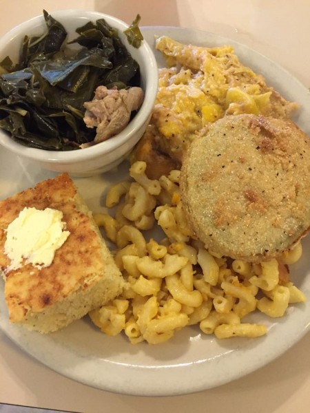 All the southern things! It's Sunday, y'all. This is how we worship. Gritz Family Restaurant in McDonough, GA