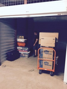 May 15, 2015 23 years 1 apartment 4 Navy quarters 2 rented houses 3 owned houses And this is our first storage unit!