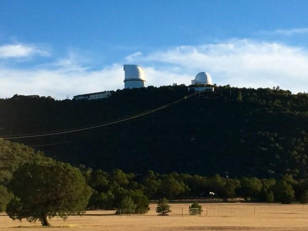 The Harlan J. Smith and Otto Struve telescopes