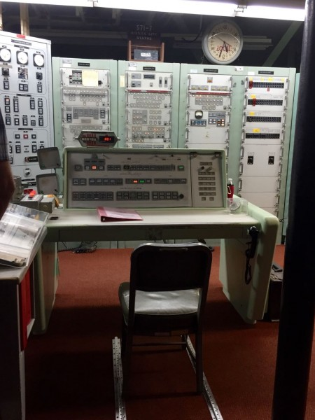 Nope. No worries if you press the wrong button. Launching a missile involved turning keys. Again, quaint.