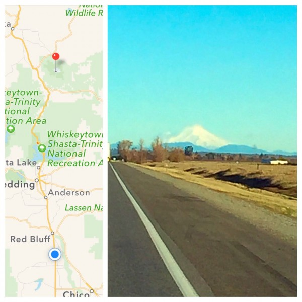 On Dec. 15, the mountain passes between California and Oregon looked clear and thus safe for travel, so we headed northward and enjoyed fantastic views of Mount Shasta from the valley.