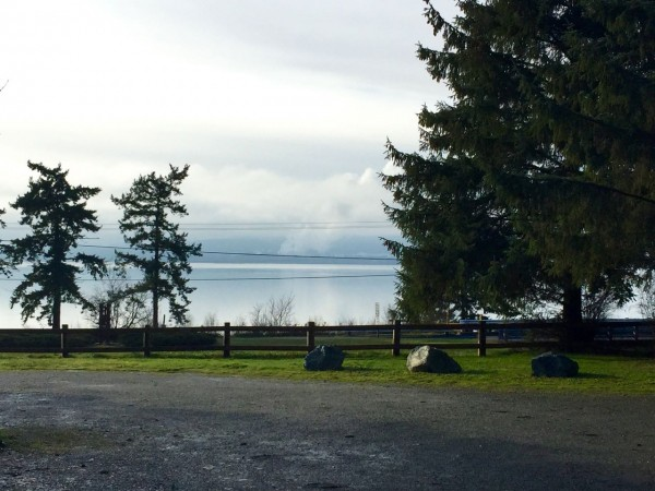 Our view of the bay, from our spot at Bay View