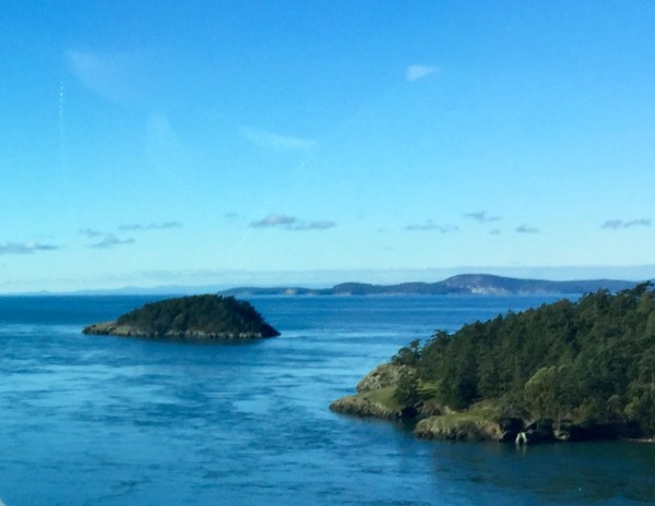 Deception Pass, between Fidalgo Island and Whidbey Island