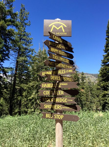 5th arrow down: MT WHITNEY. That's where I'll pick up my guys in about two weeks. Also, I find it curious that SHOWERS are designated as mandatory, but COLD BEER is not?