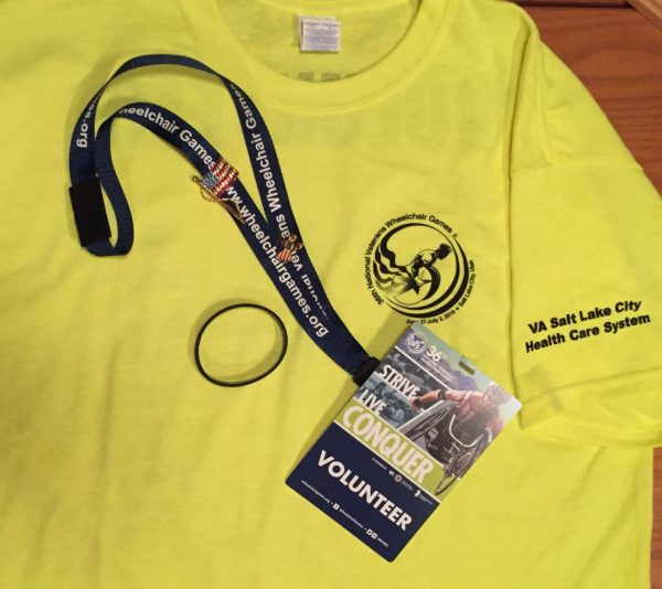 ... picked up my shirt and credentials...