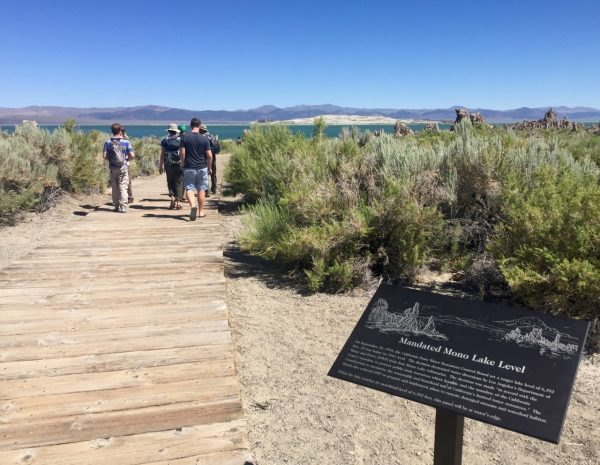 I learned a lot about the tufas, Mono Lake, and water politics on a guided tour put on by the Mono Basin Visitor's Center.