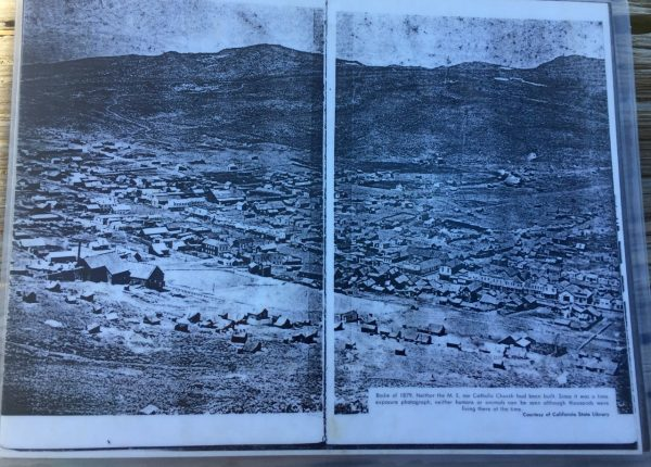 Back in 1879, it looked more like this. (Photo of handout passed around by park ranger)