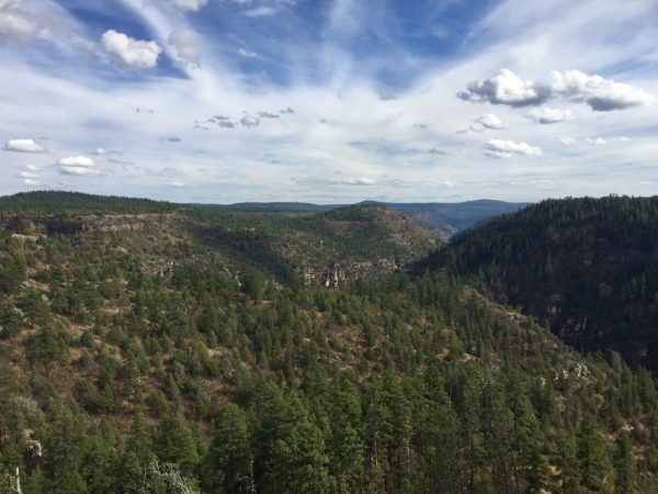You probably haven't heard of Sycamore Canyon because it offers more of a wilderness experience than it's larger sibling to the north.